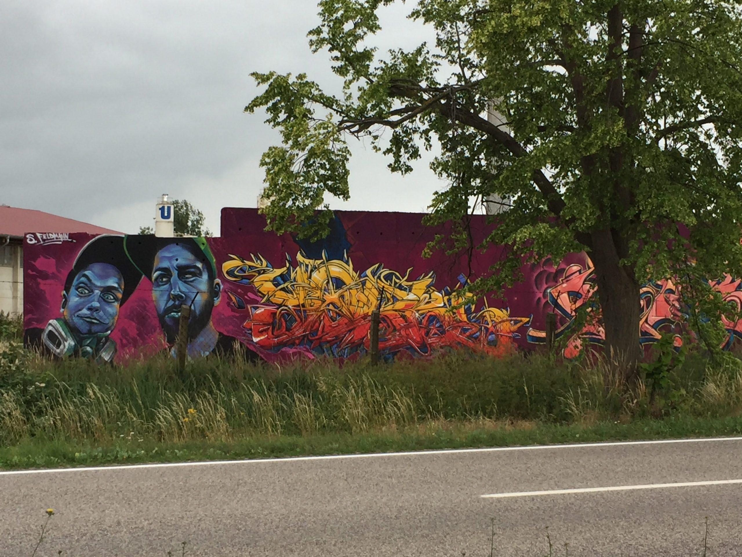 Grafitti in Oebisfelde