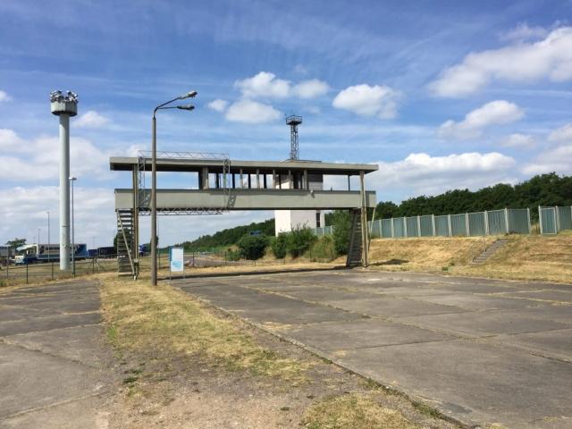Güst Marienborn - Kontrollbrücke