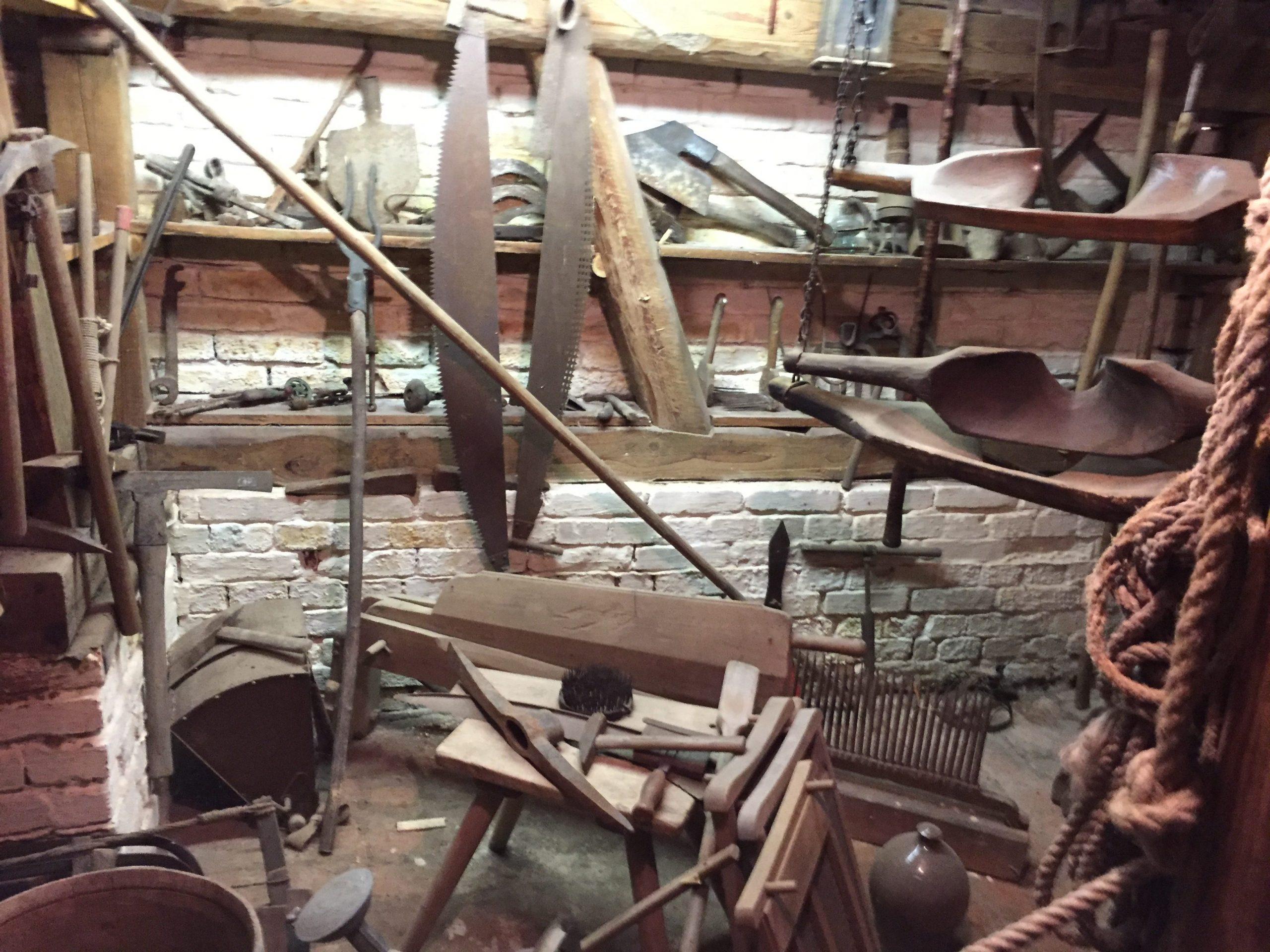 Historisches Werkzeug der Unterkunft