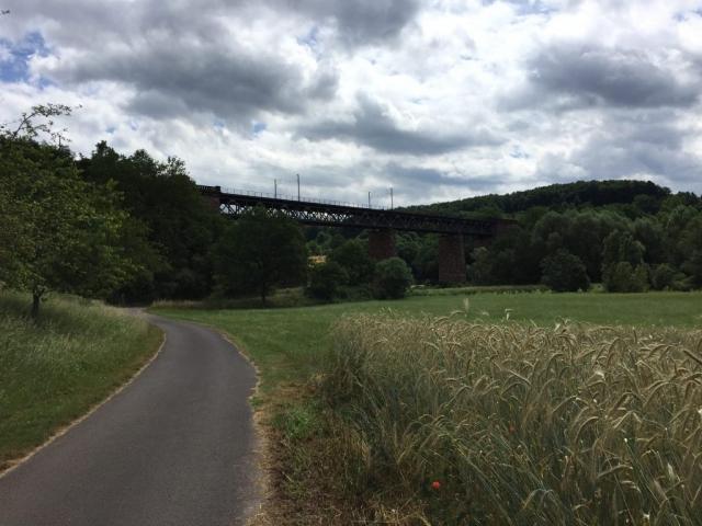 Werratal- Viadukt der Strecke Kassel - Bebra