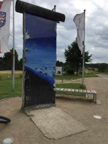 Ein Stück alte Berliner Mauer