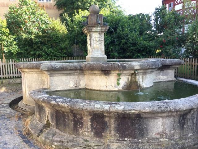 Brunnen im Rhöner Museumsdorf, Tann