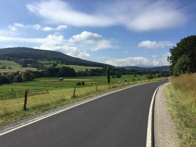 Fahrt durch das Ulstertal