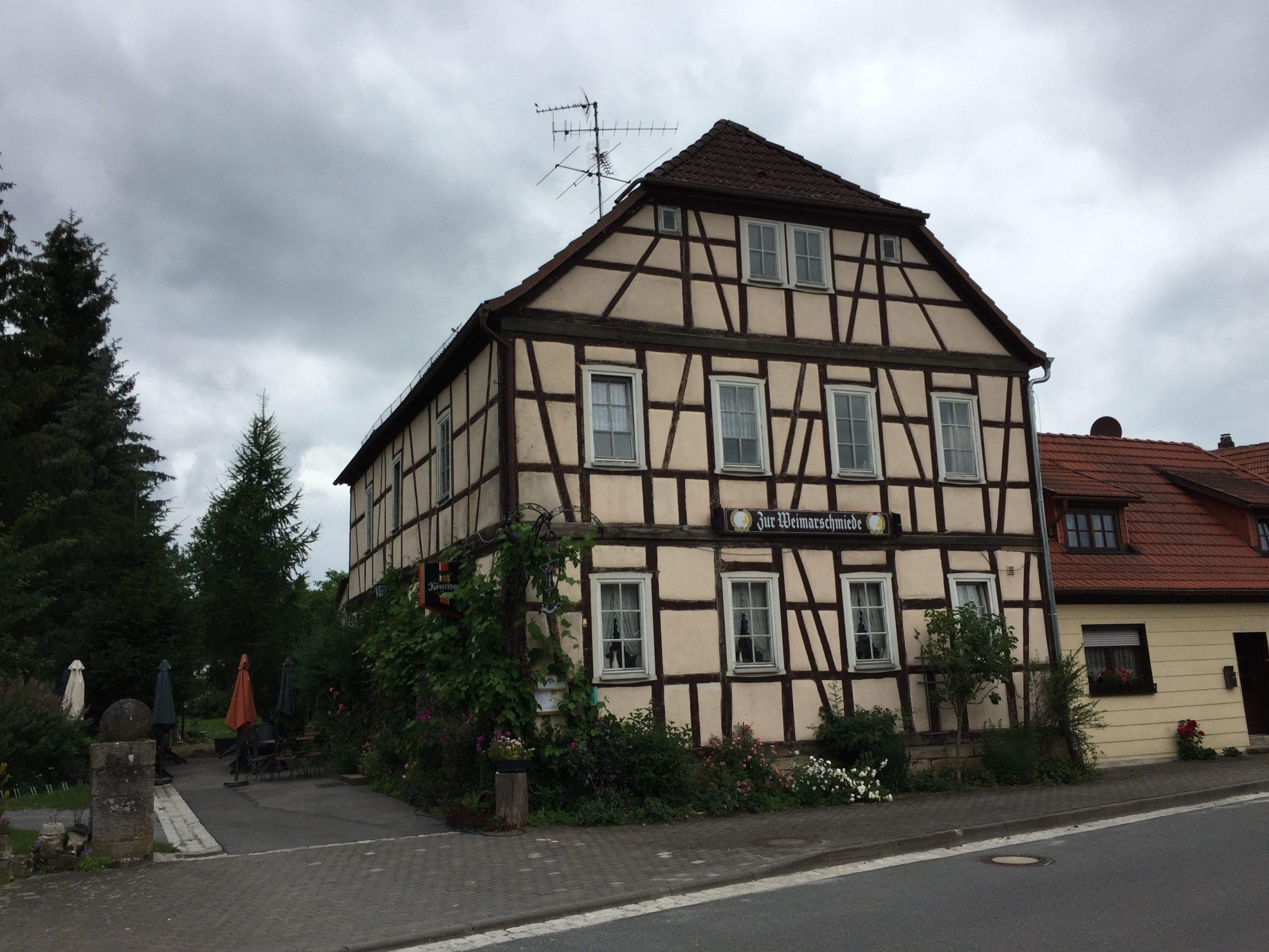 Zur Weimarschmiede - nördlichstes Gasthaus Bayerns