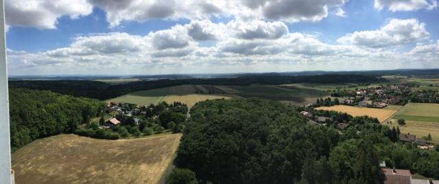 Blick vom Bayernturm