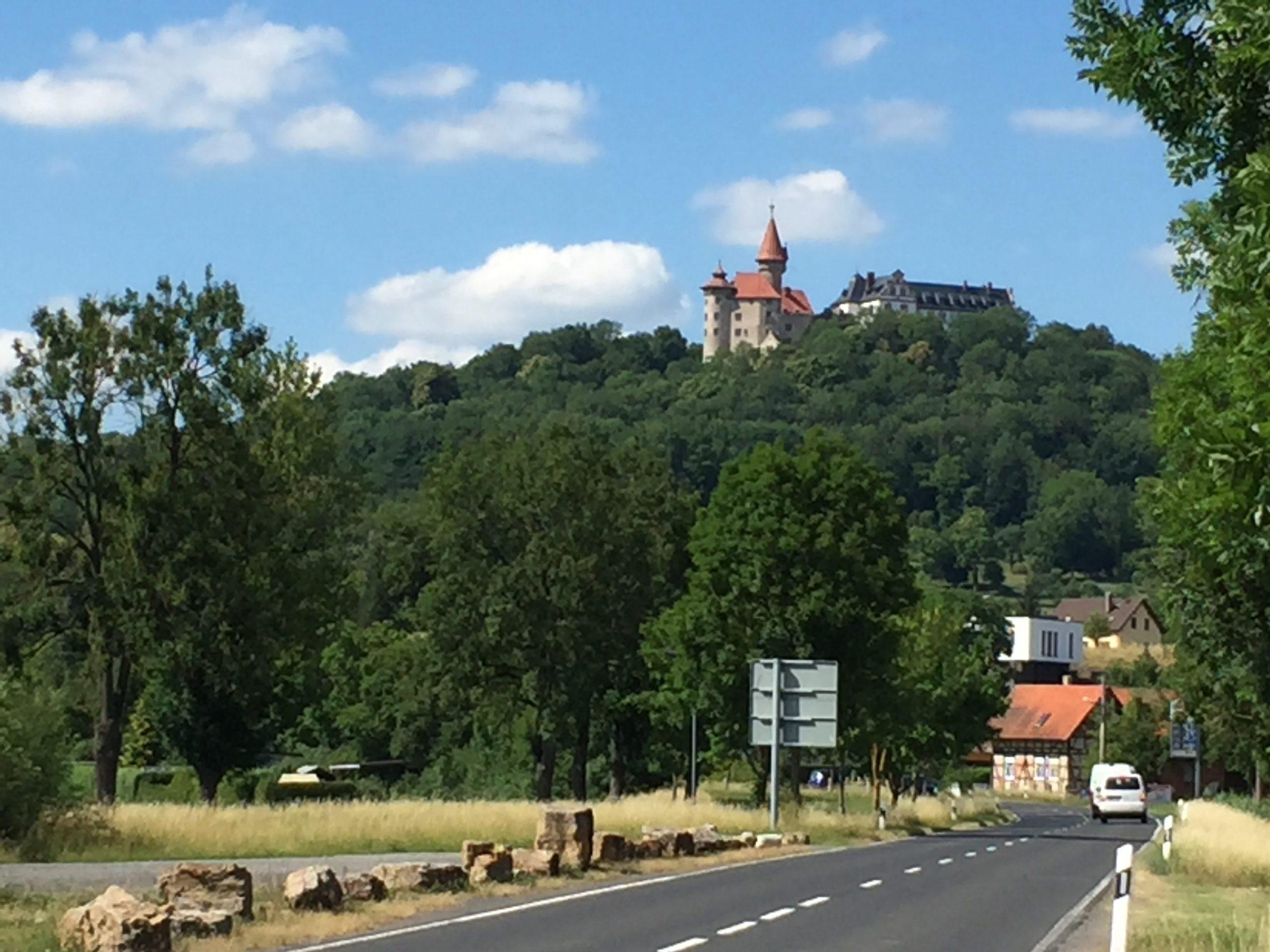 Blick auf Veste Heldburg