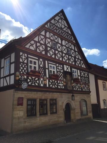 Heldburg - ein weiteres schönes Fachwerkhaus