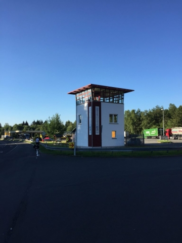 Ehemaliger Grenzübergang bei Eisfeld