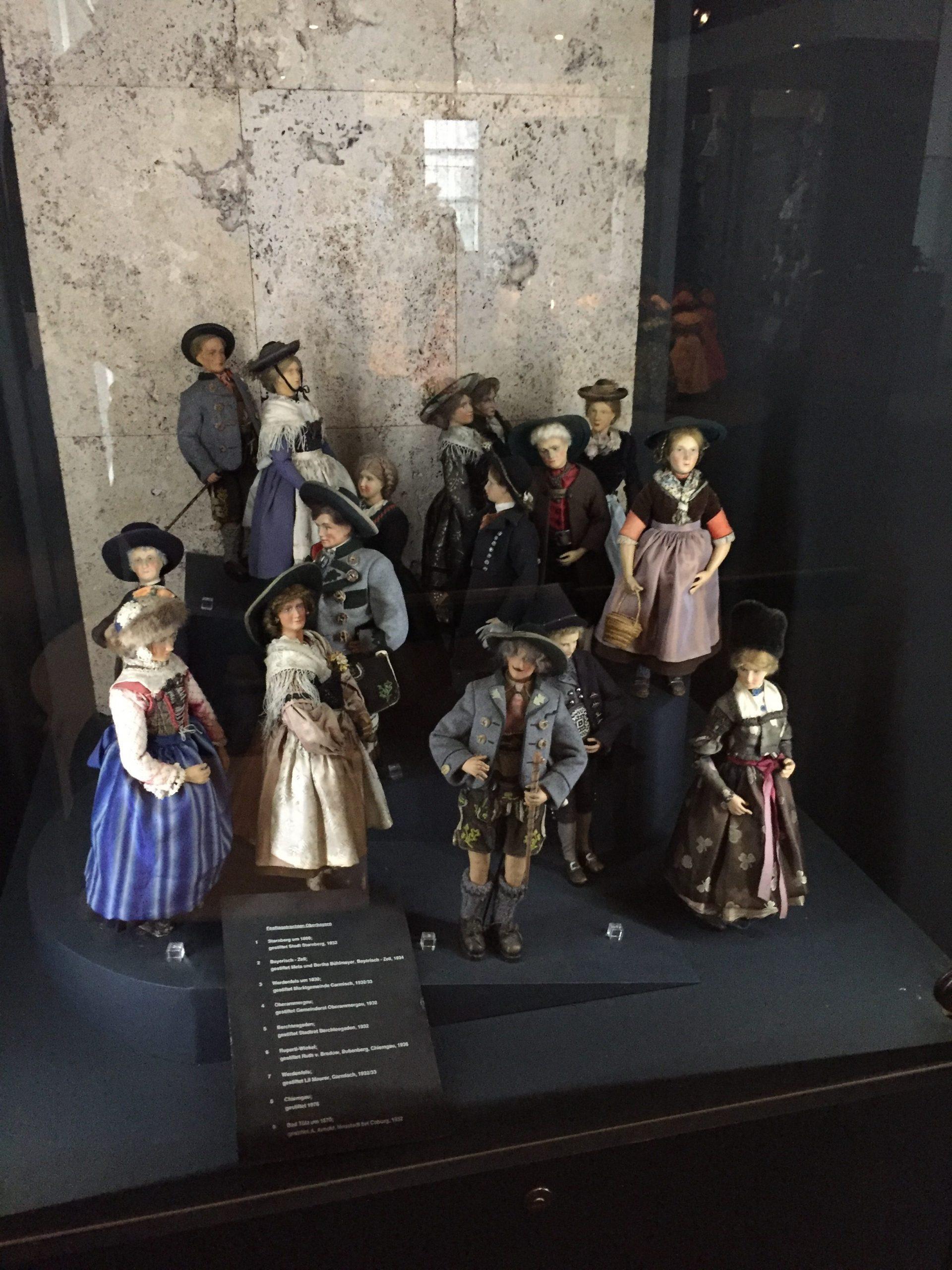 Natürlich auch traditionelle deutsche Figuren