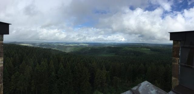 Blick vom Altvaterturm