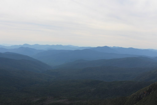 Auch wenn's so aussieht, nicht die Blue Ridge Mountains