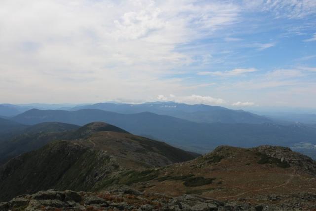 Blick von Mt. Monroe