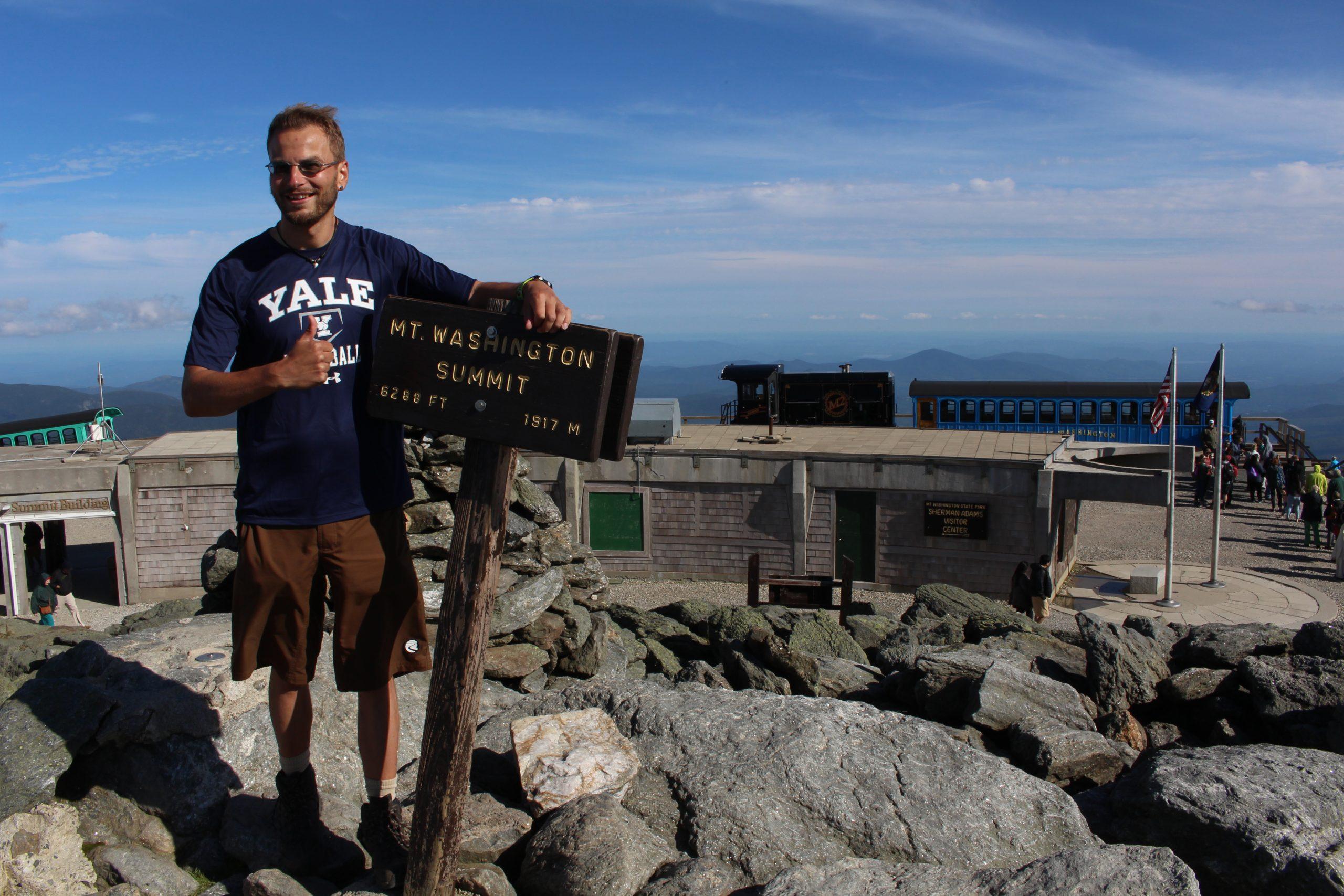 Mt. Washington bezwungen