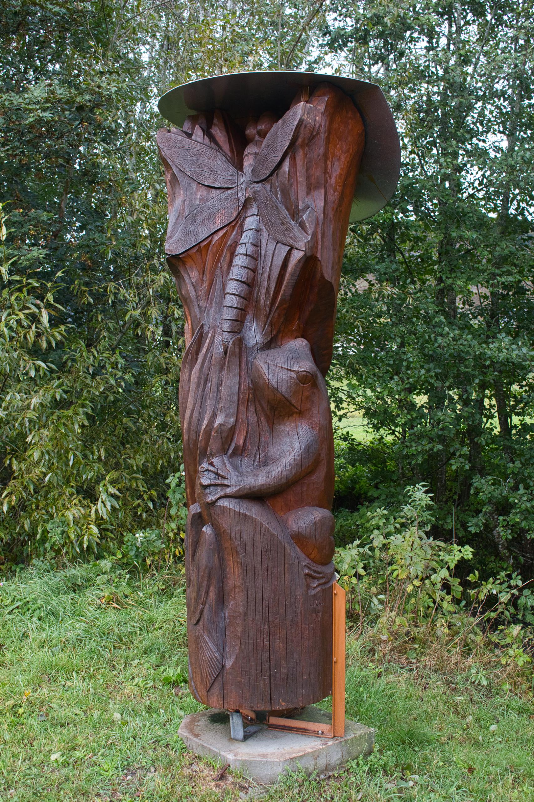 Holzschnitzkunst bei Bernau