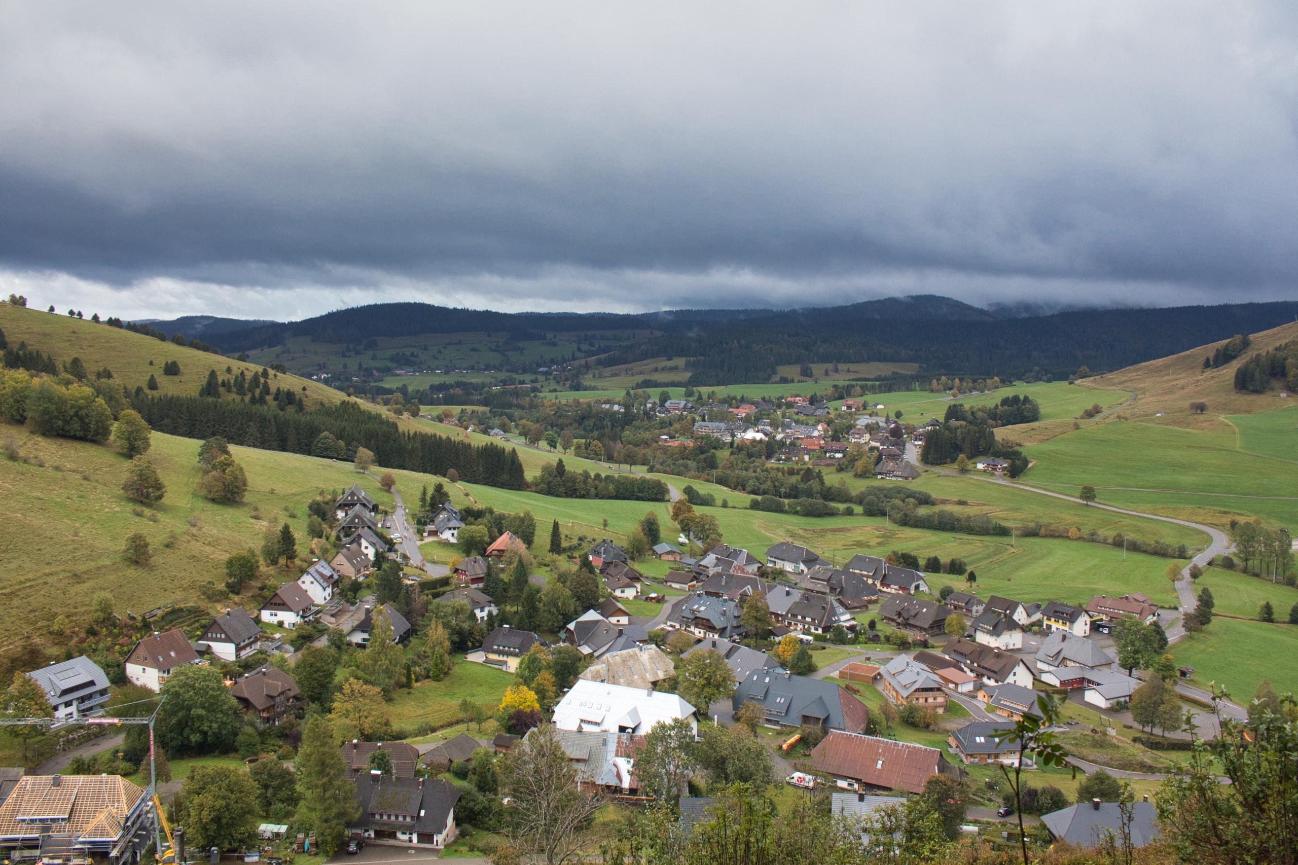 Blick ins Tal der Bernauer Alb
